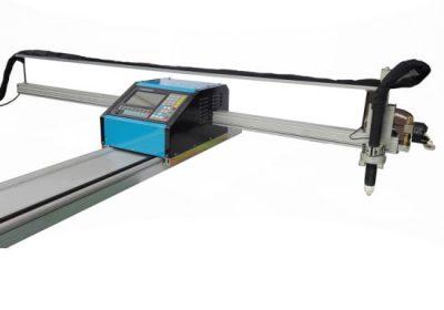 להבה cnc נייד / פלזמה מכונת חיתוך פלדה 8mm cnc מתכת מכונת חיתוך עבור נחושת נחושת