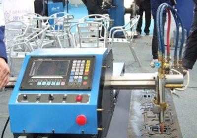 סוג Gantry פעמיים מונע CNC להבה פלזמה מכונת חיתוך במכירות