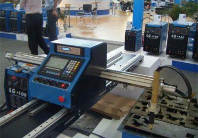 סוג גאנטרי מיני נייד cnc חותכי פלזמה צינור מתכת מכונת חיתוך