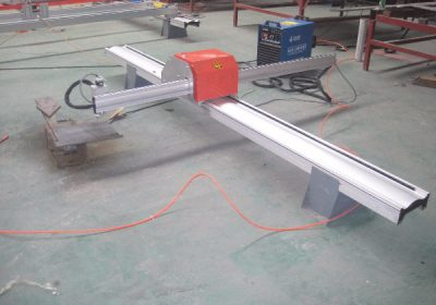 נייד CNC צינור פרופיל חיתוך מכונת חיתוך יצרן זול של הצינור