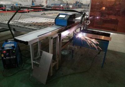 אספקת מתכת נתב cnc / מתכת פלזמה גיליון cnc צינור פרופיל מכונת חיתוך