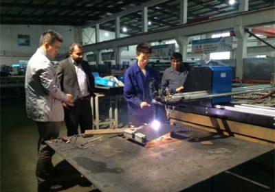 CNC פלזמה להבה מכונת חיתוך ניידים
