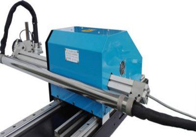 סוג גנטרי CNC פלזמה מכונת חיתוך, חיתוך צלחת פלדה מכונות קידוח מחיר המפעל