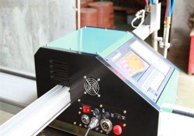 CNC נייד פלזמה מכונת חיתוך, דלק חמצן מכונת חיתוך מתכת מחיר