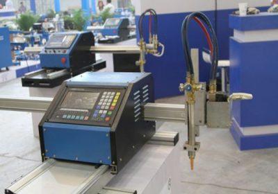 שניהם מתכת גיליון מתכת צינור CNC מכונת חיתוך, עם חיתוך הן פלזמה ו-דלק חמצן לפיד חיתוך
