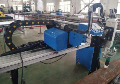 מחיר זול צינור נחושת / צינור ברזל / צינור נירוסטה טייוואן cnc פלזמה מכונת חיתוך