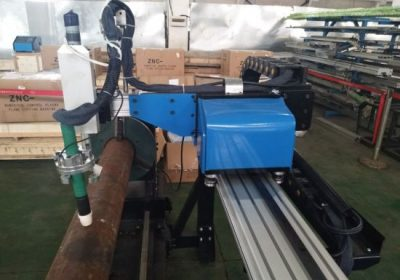 CNC פלזמה נירוסטה צינור מכונת חיתוך