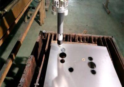 מוסמך cnc להבה / פלזמה מכונת חיתוך קל לפעול יציבות נייד cnc פלזמה מכונת חיתוך