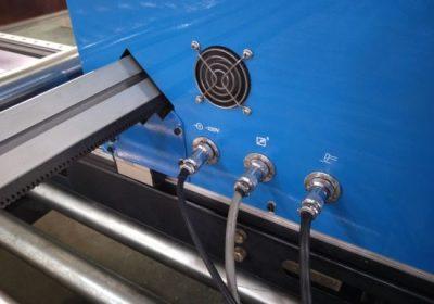 סוג גנטרי CNC פלזמה מכונת חיתוך, פלדה צלחת חיתוך מכונת פלזמה חותך
