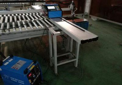 תחביב 1500 * 3000mm צינור cnc מכונת חיתוך פלזמה