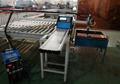 CNC נייד פלזמה / להבה מכונת חיתוך לחיתוך אלומיניום
