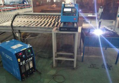 סוג גנטרי CNC חיתוך פלזמה ו פלזמה מכונת חיתוך, חיתוך צלחת פלדה מכונות קידוח מחיר המפעל