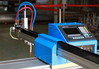 קל משקל גנטרי מכונת חיתוך cnc פלזמה